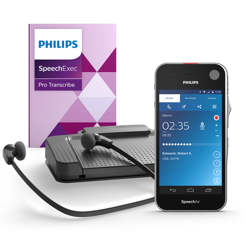 Philips PSE1200 SpeechAir Dictation and Speech Recognition Starter Kit - Speech Products