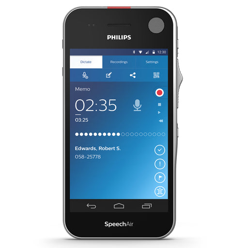 Philips SpeechAir Smart Voice Recorder (PSP1100) - Speech Products