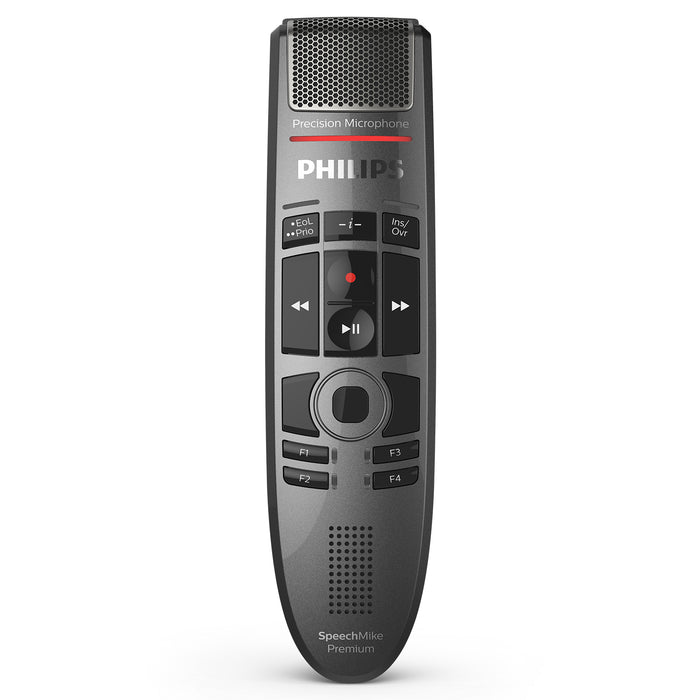Philips SMP3700/00 SpeechMike Premium Touch Dictation Microphone - Speech Products