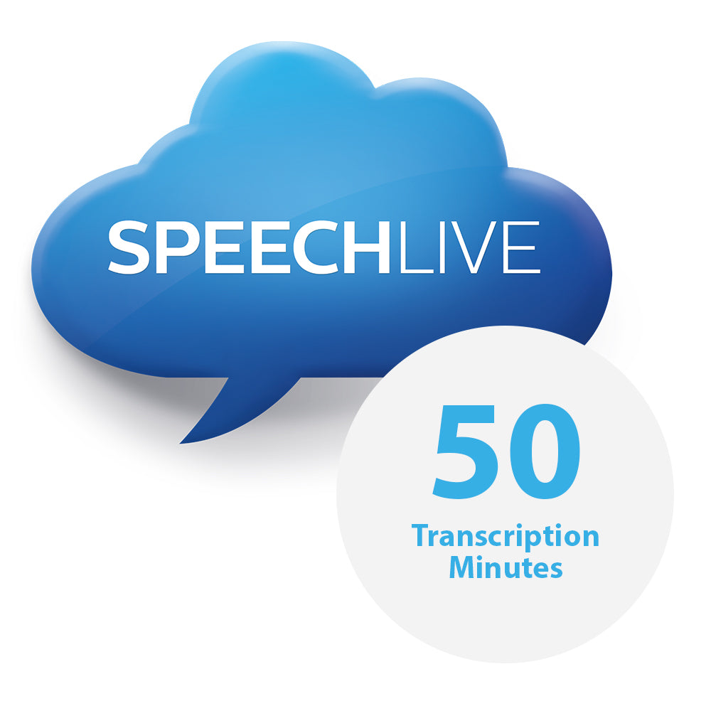 Philips PCL5010 50 SpeechLive Transcription Minutes - Speech Products