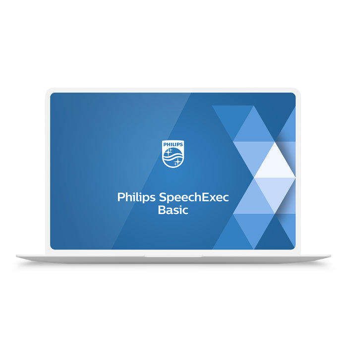 Philips LFH4612/00 SpeechExec Transcribe Standard V11 Software 2 Year License - Instant Download - Speech Products