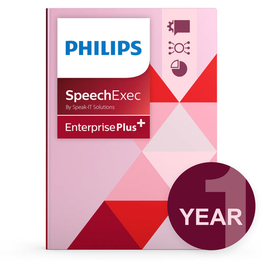 Philips SEE - Concurrent User License Plus (1 Year) - Speech Products