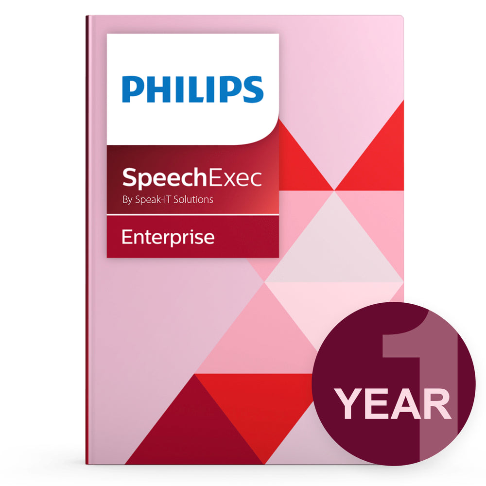 Philips LFH7353/00 SEE - Concurrent User License (1 Year) - Speech Products