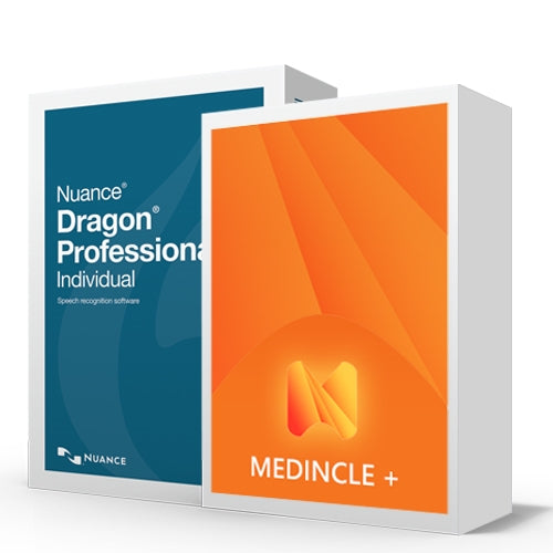 Dragon Professional V15 Medical Speech Recognition Package - Speech Products