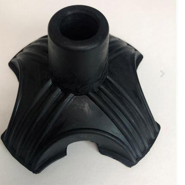 Deluxe Rubber Cane Tip