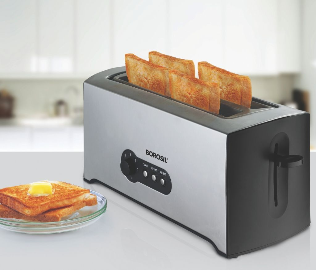 Krispy 4 Slice Pop-Up Toaster
