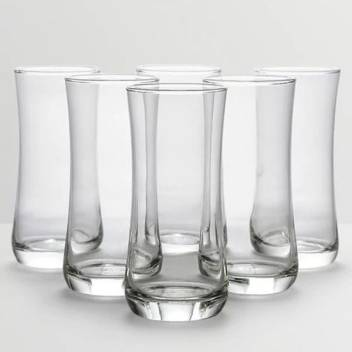Ocean 1B01709 Glass Set  (Glass, 280 ml, Clear, Pack of 6)