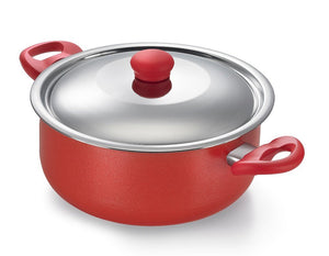 Omega Gold Series Saucepan -240mm With SS Lid Item Code: 36412