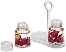 Load image into Gallery viewer, Freelance Eden Salt & Pepper Dispenser Box Holder Keeper Case Dish with Lid