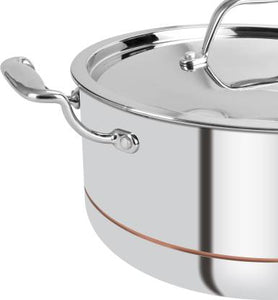 Bergner Argent 5CX Cook and Serve Casserole  (4500 ml) BG31036