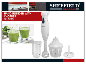 85094090-HAND BLENDER WITH CHOPPER SH-9019