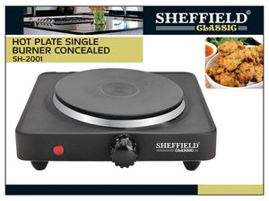 85166000- HOT PLATE SINGLE BURNER CONCEALED SH-2001
