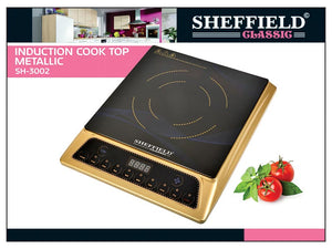 85169000-INDUCTION COOK TOP METALLIC SH-3002