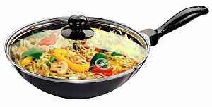 Q72-DEEP FRY PAN 2 LTR WITH GLASS LID