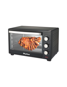 Toaster oven Grill with Rotisserie & convection function 60 Min. Timer Bell Ring VT-7067
