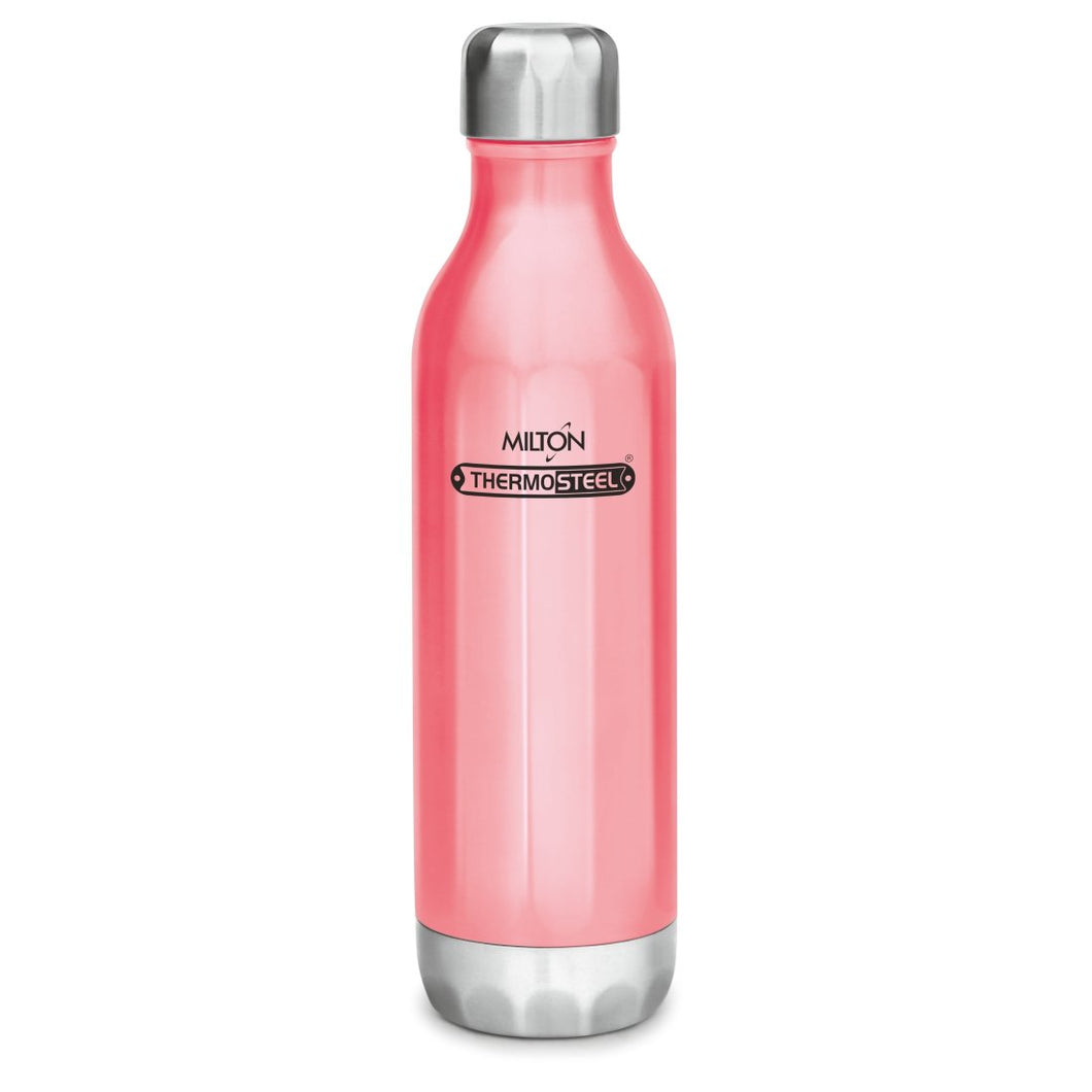 Milton Bliss 900 Thermosteel Water Bottle, 820 ml (Pink)
