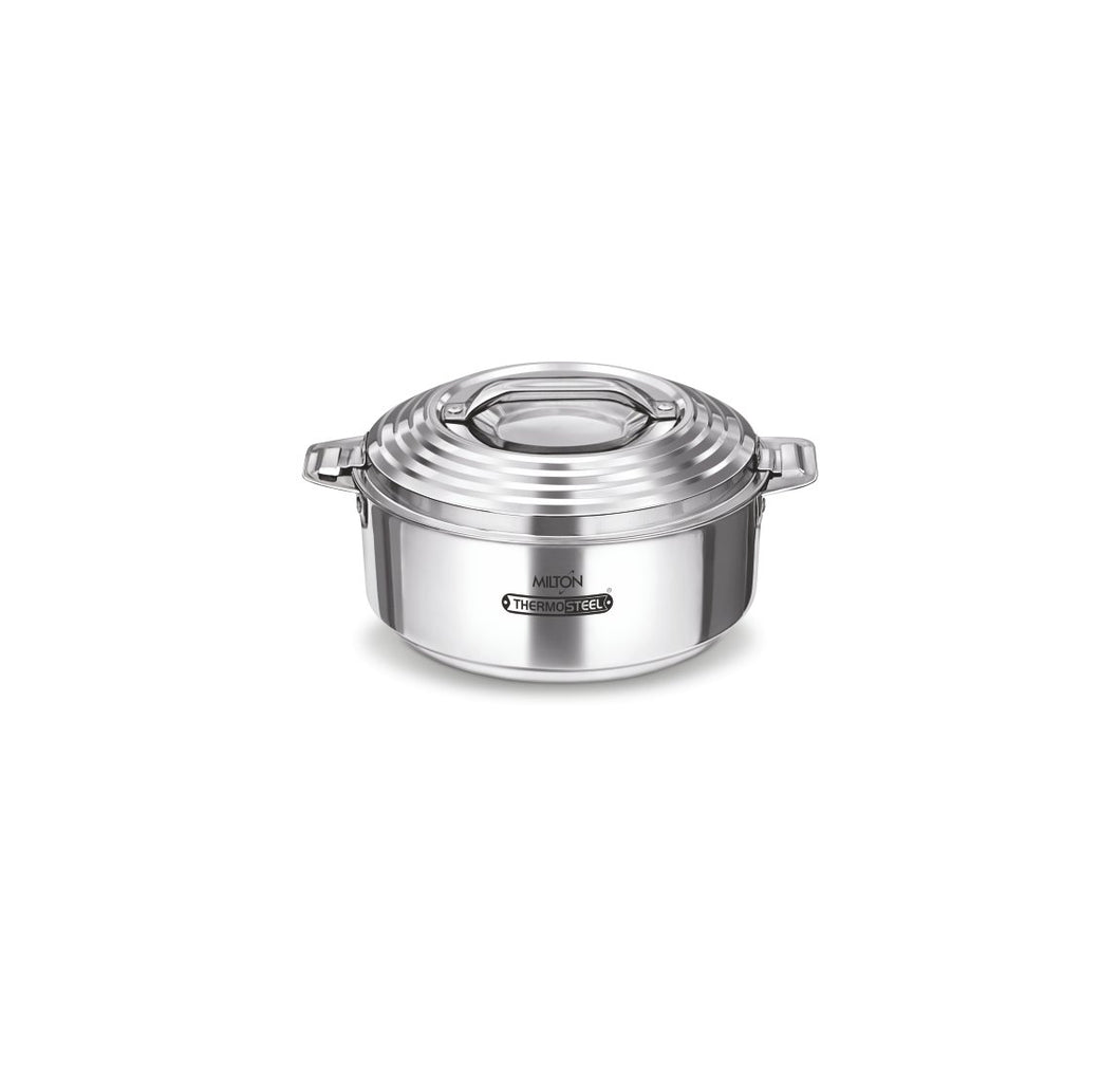 Milton Galaxia 1000 Stainless Steel Casserole, 1.25 Litre, Silver