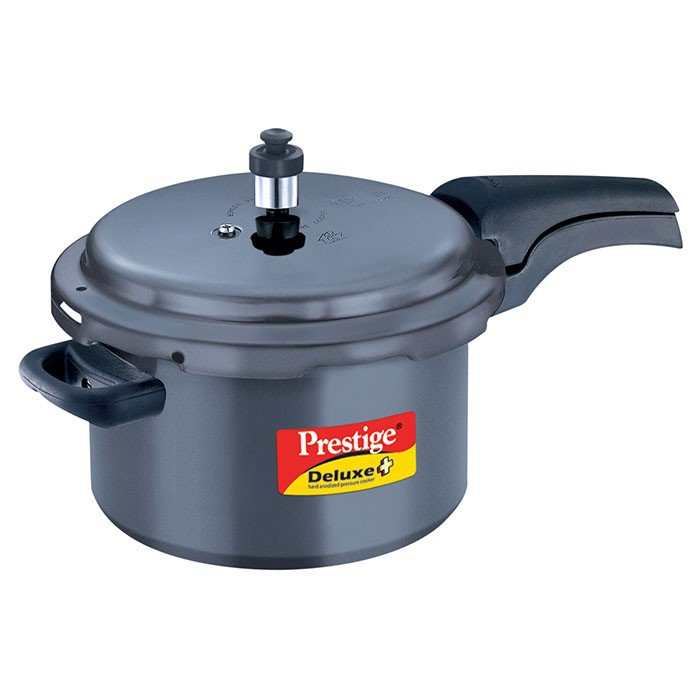 Deluxe Plus Hard Anodized Pressure Cooker 5 Litre  Item Code: 20351