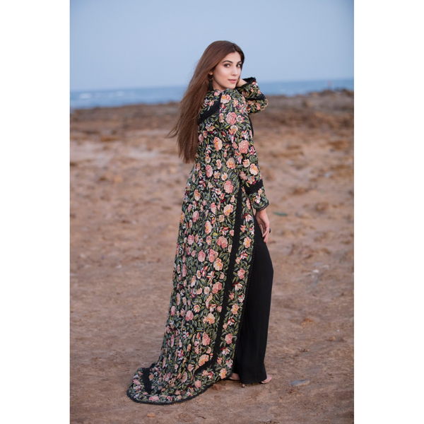 Long Tail Butterfly Gara Coat
