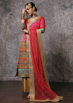 Shahana Chatta Patti Angrakha With Dupatta