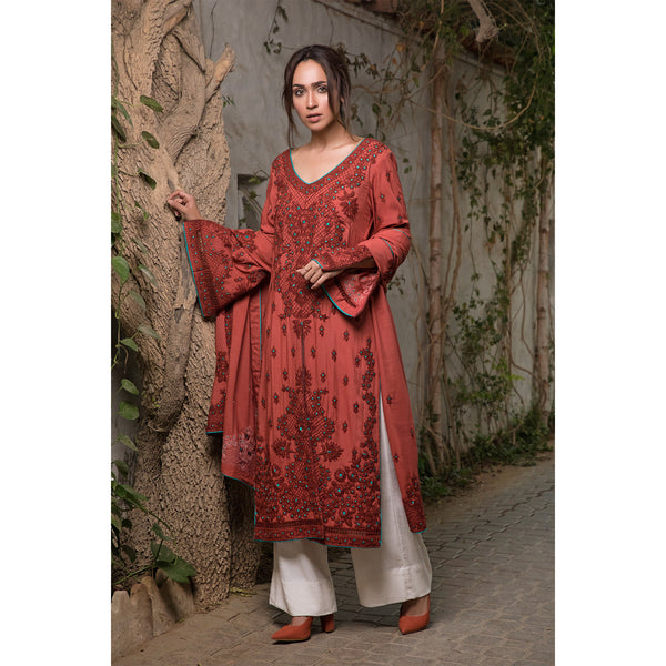 Traditional Dori Kurta with an Open Back