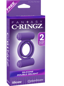 C-RINGZ SILICONE DOUBLE DELIGHT