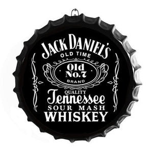 JD BOTTLE TOP SIGN