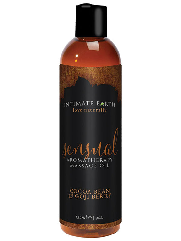 SENSUAL AROMATHERAPY MASSAGE OIL