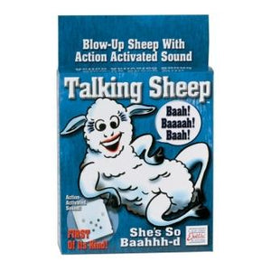 TALKING INFLATABLE SHEEP