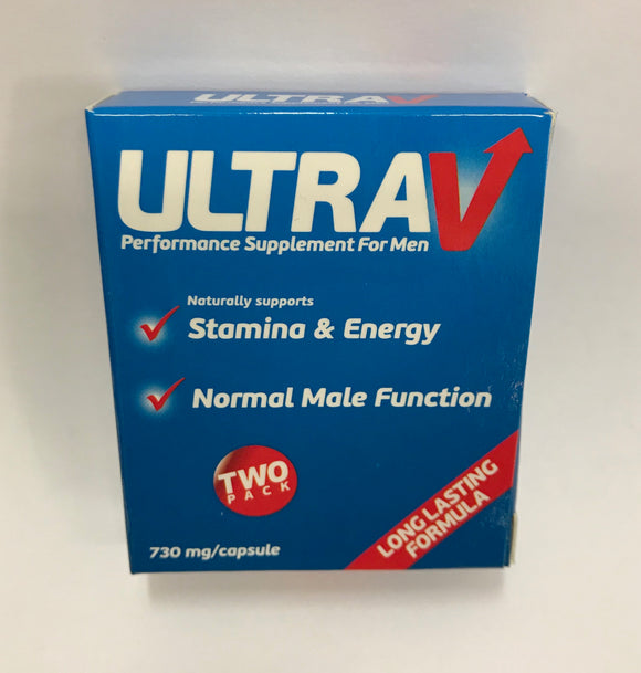 ULTRA V PERFORMANCE SUPPLEMENT FOR MEN