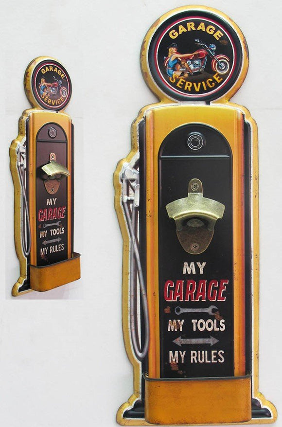 GARAGE SERVICE BOTTLE OPENER