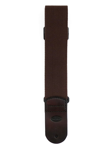 SC1 Brown Canvas Guitar Strap
