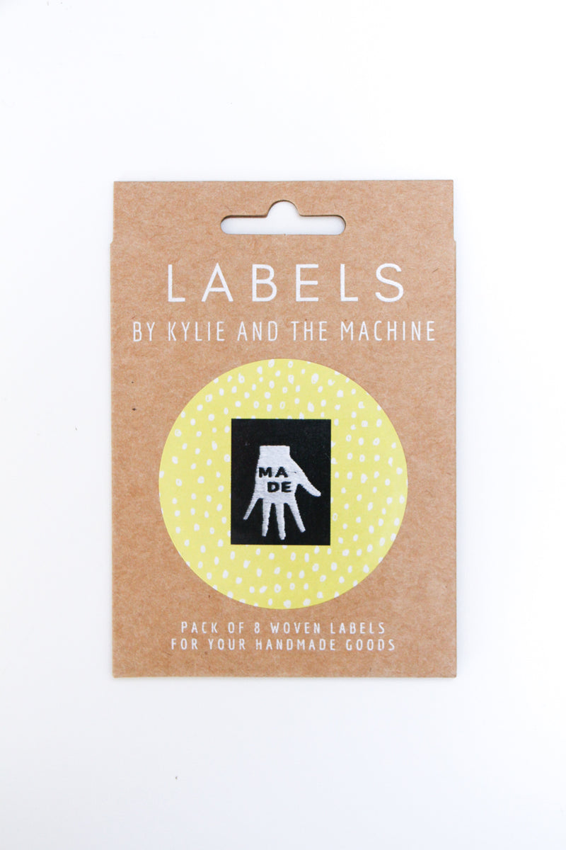 """Made"" Woven Label"