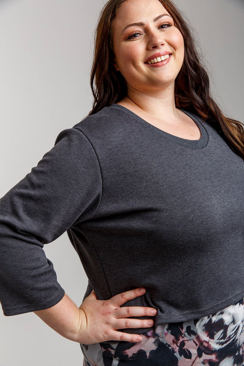 Briar Curve sweater and t-shirt pattern