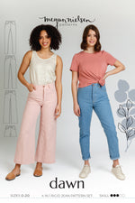 Dawn jeans (4 in 1!) pattern