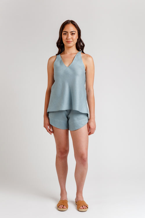 Reef camisole & shorts set pattern