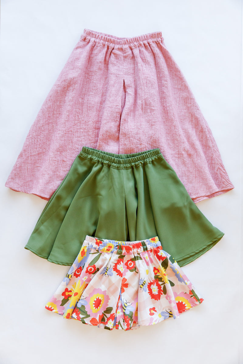 Mini Tania culottes pattern