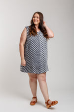 Eucalypt Curve woven tank top & dress pattern
