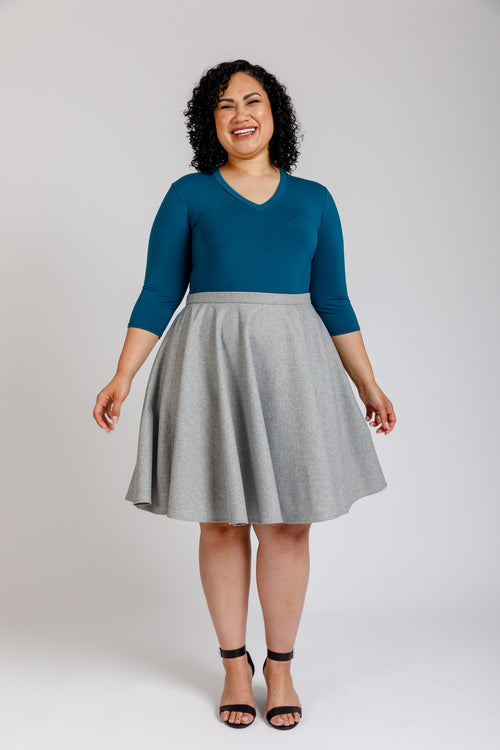 Veronika Curve skirt pattern
