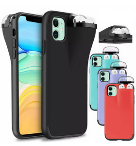 2 in 1 - IPhone and AirPod Duo Protective Case (4 designs)
