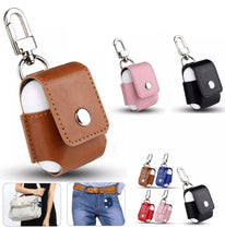 Load image into Gallery viewer, Leather Clip AirPod Case (8 designs)