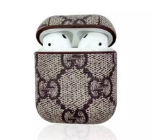 Load image into Gallery viewer, Leather Designer AirPod Case (13 designs)