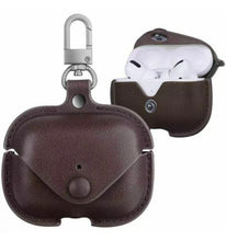 Load image into Gallery viewer, Leather Buckle Protective Case - AirPod Pro (6 colors)