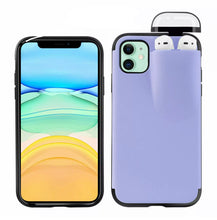 Load image into Gallery viewer, 2 in 1 - IPhone and AirPod Duo Protective Case (4 designs)