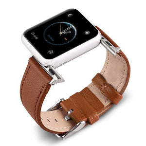Classic Leather Apple Watch Band (5 Colors Available)