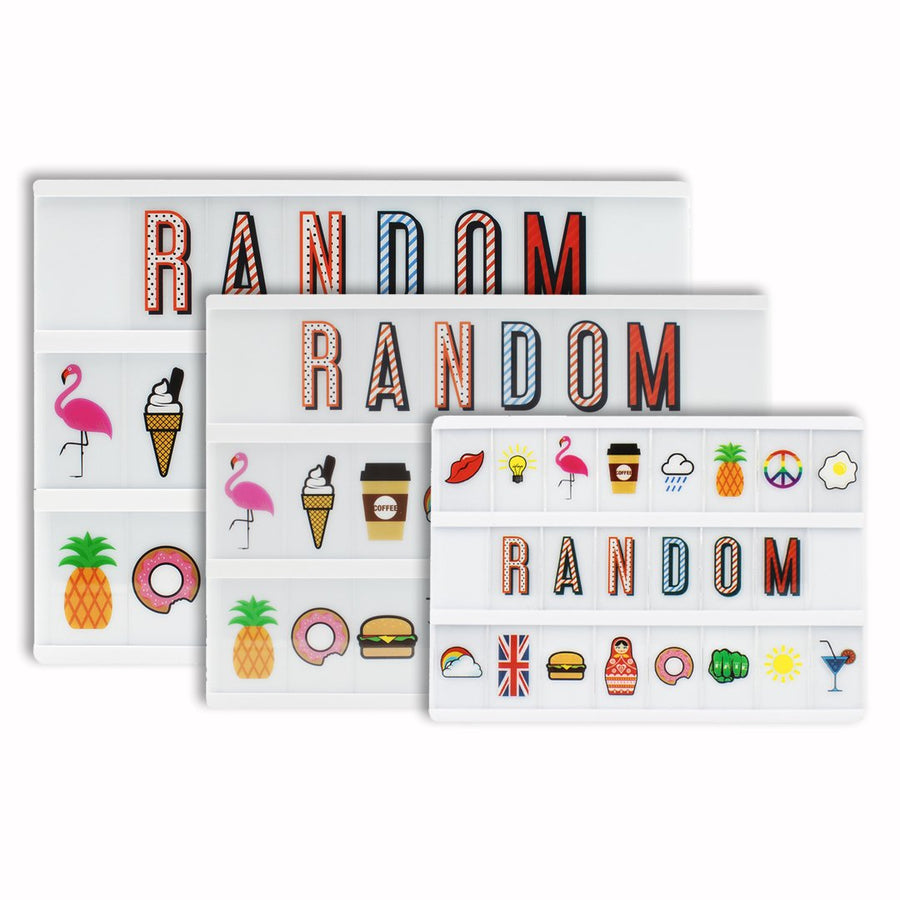 Random Extra Letters & Symbols Pack