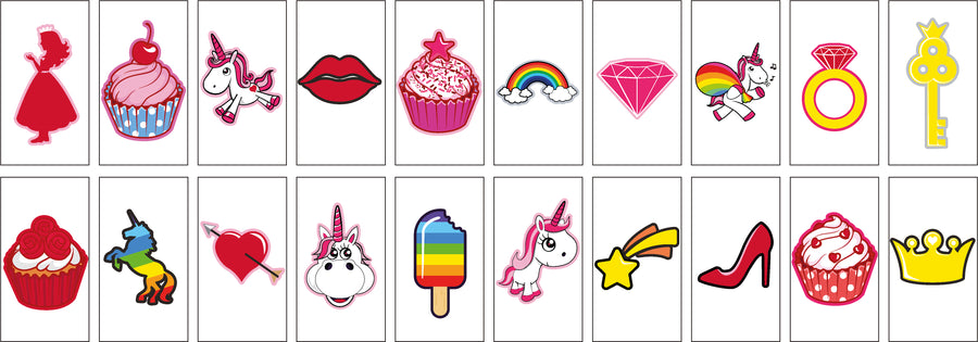 Unicorn & Cupcake Letter Pack