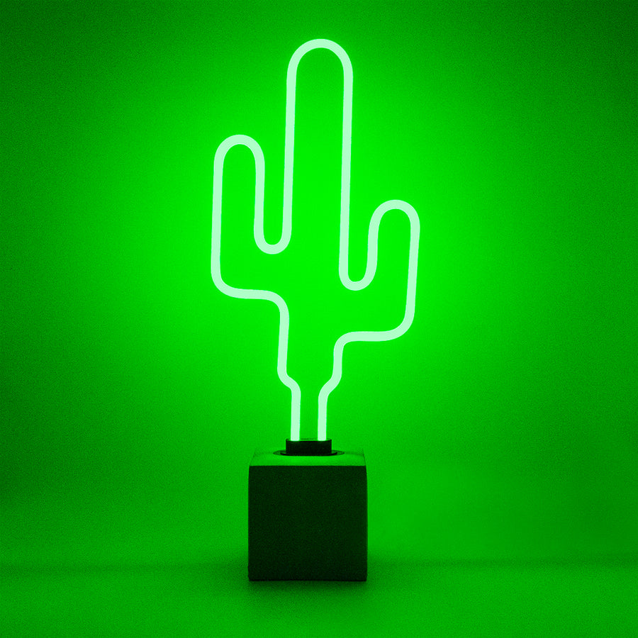 Neon 'Cactus' Sign - Replacement Glass (GLASS ONLY)