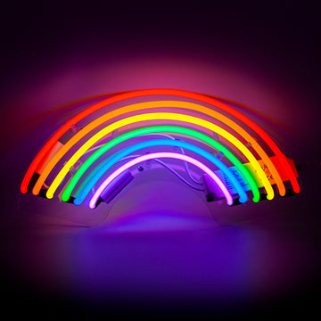 Neon Light 'Rainbow' Wall Sign