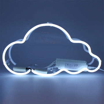 Neon Light 'Cloud' Wall Sign